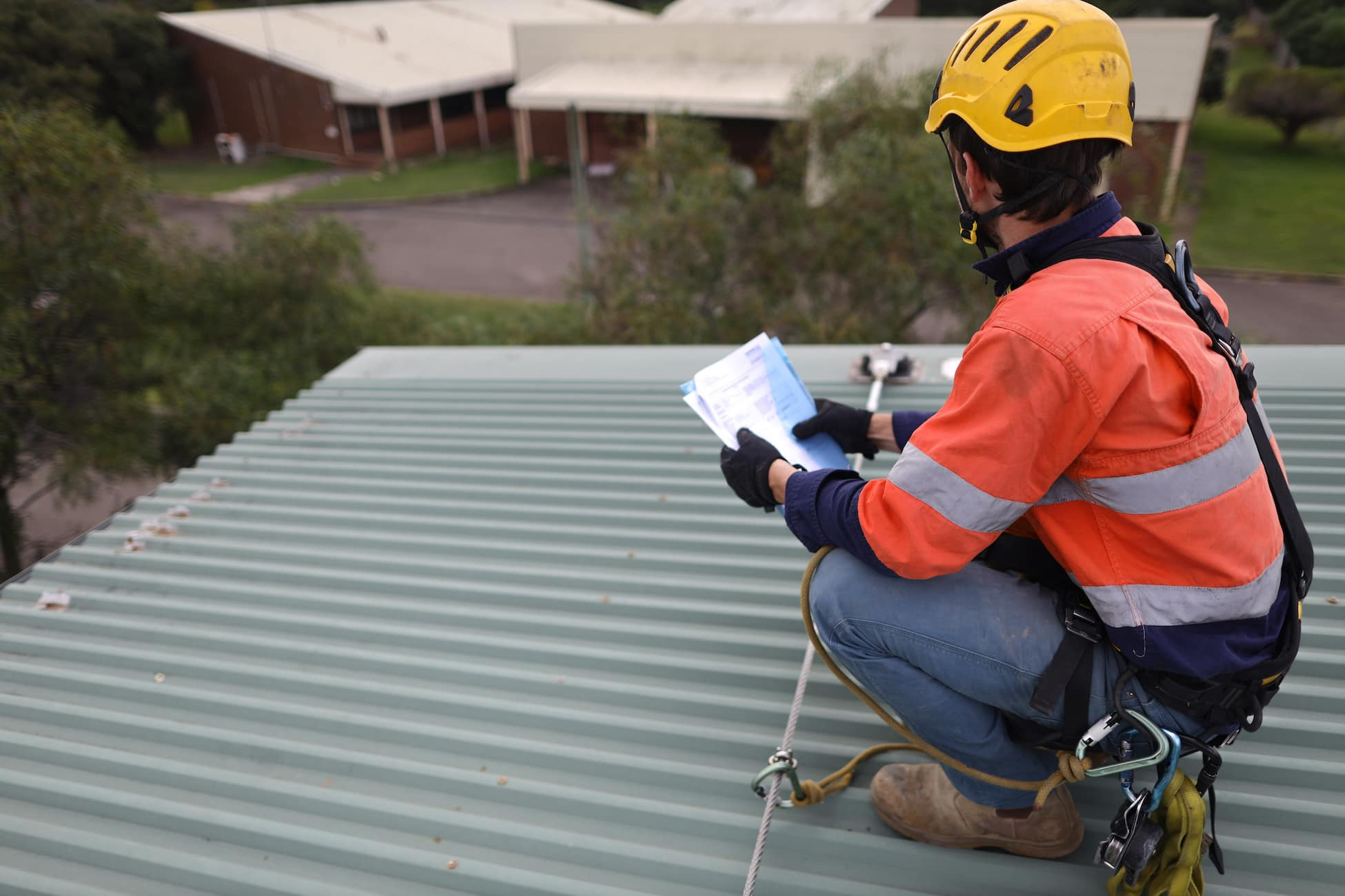 getting a professional roof inspection